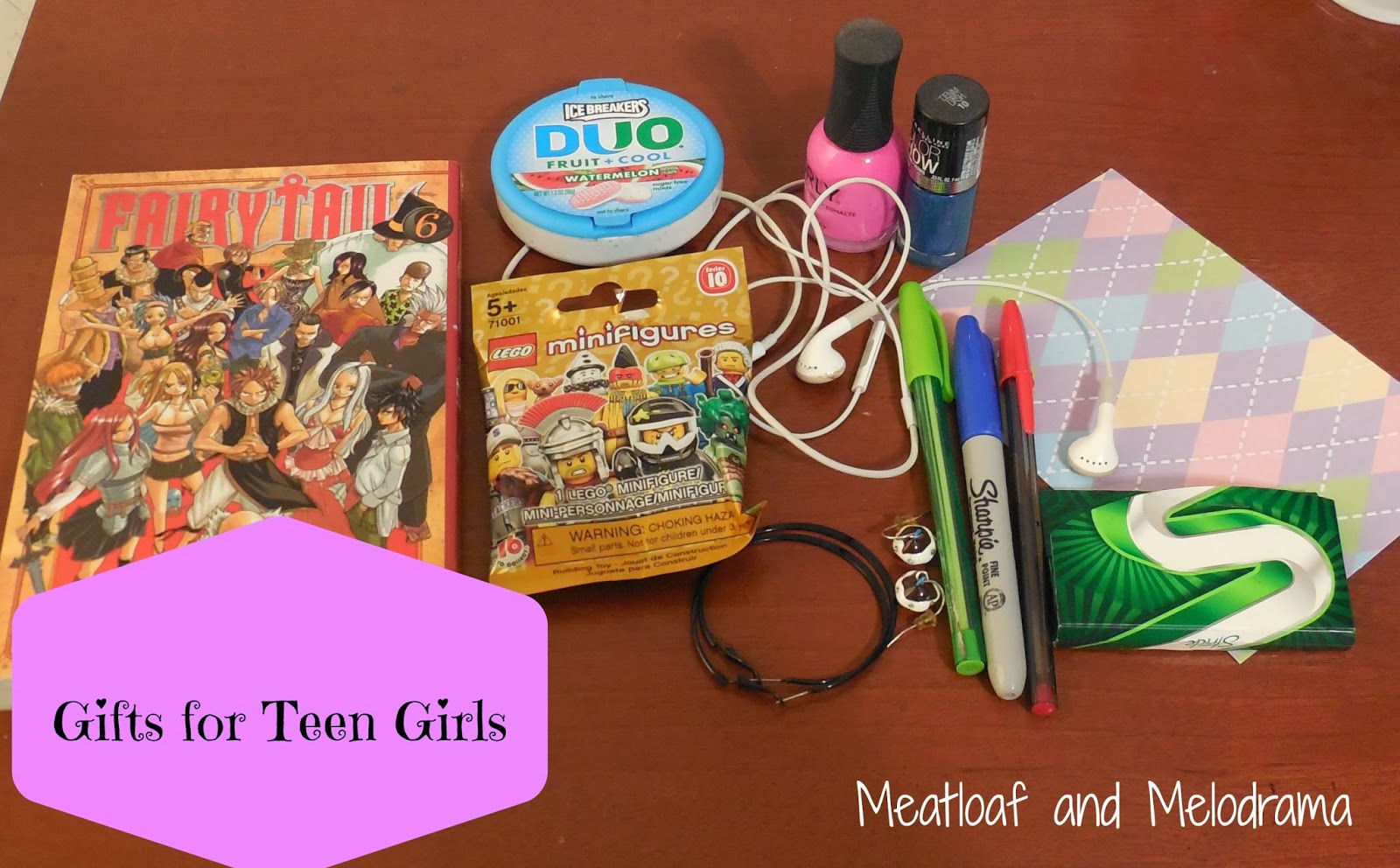 Toys For Teens 2013 : Gifts for teen girls or why gift cards rock meatloaf