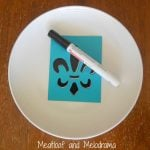 DIY Painted French Plates