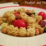 Pasta and Chickpeas with Bacon