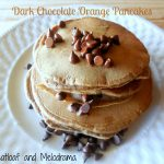 Double Chocolate Orange Pancakes