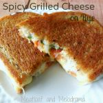 Spicy Grilled Cheese on Rye