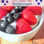 Red, White and Blueberry Bowl