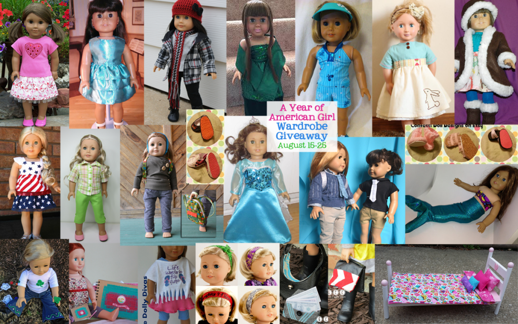 A Year of American Girl Doll Wardrobe Giveaway