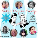 Retro Re-Pin Party Number Six