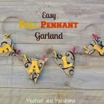 Easy Fall Pennant Garland