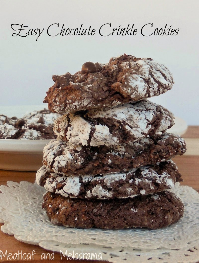 Chocolate Cake Mix Cookies With Cool Whip