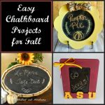 Fun Chalkboard Projects for Fall