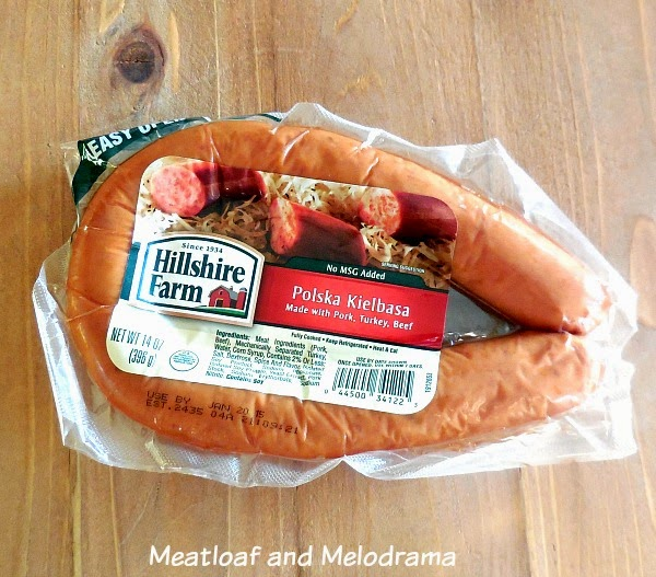 package of hillshire farm kielbasa