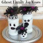 Ghost Family Jar Vases