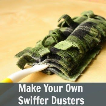 Make Your Own DIY Swiffer Dusters