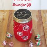 Candy Filled Mason Jar Gift