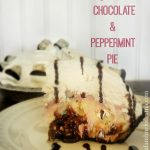 No Bake Chocolate Peppermint Pie