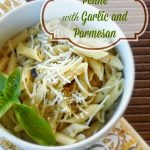 Penne with Garlic and Parmesan
