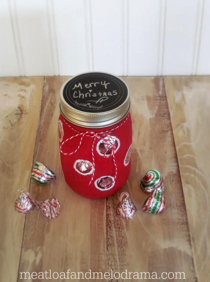Valentines Hugs And Kisses Candy Jar Gift Meatloaf And