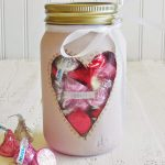 Valentine's Hugs and Kisses Candy Jar Gift