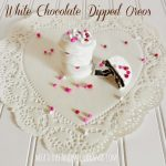 White Chocolate Dipped Oreos