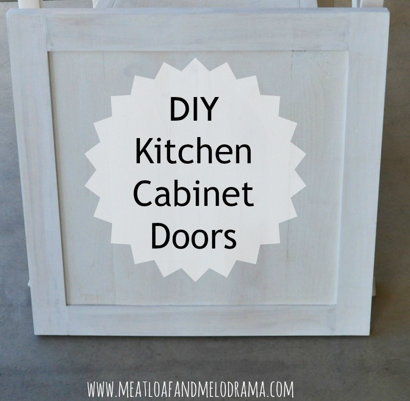 How To Build Kitchen Cabinets Doors How We Built Our Kitchen Cabinet Doors Meatloaf And