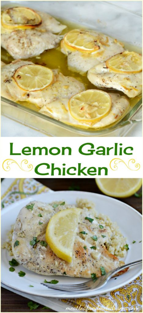 baked lemon garlic chicken