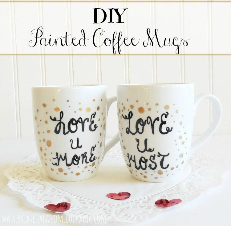 Diy Painted Coffee Mugs