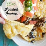 Easy Loaded Nachos