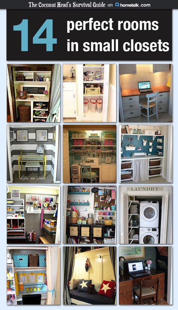 secret rooms in small closets curated by coconutheadsurvivalguide.com #hometalk