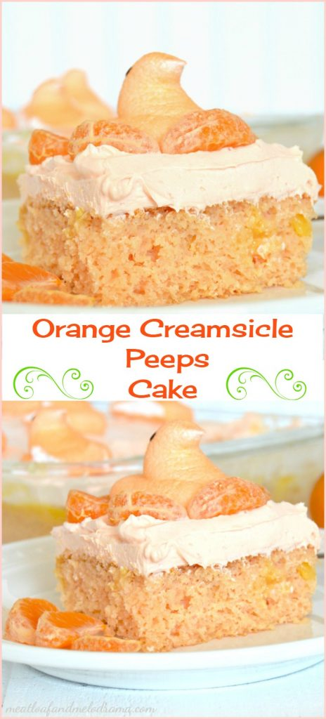 orange-creamsicle-peeps-cake-collage