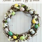 Rustic Easter Egg Wreath