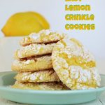 Easy Lemon Crinkle Cookies