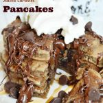 Chocolate Salted Caramel Pancakes