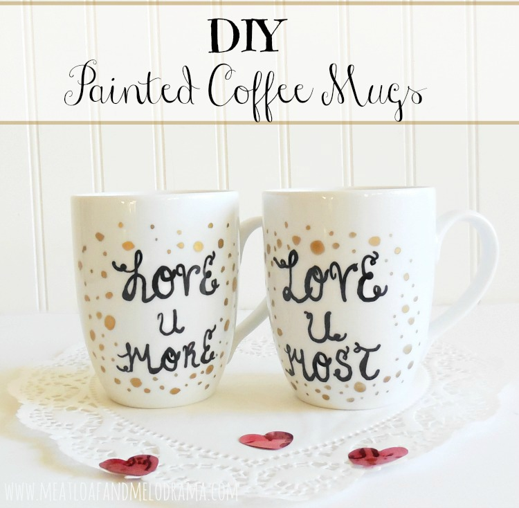 Decorate Coffee Cups With Sharpie Or Paint Markers