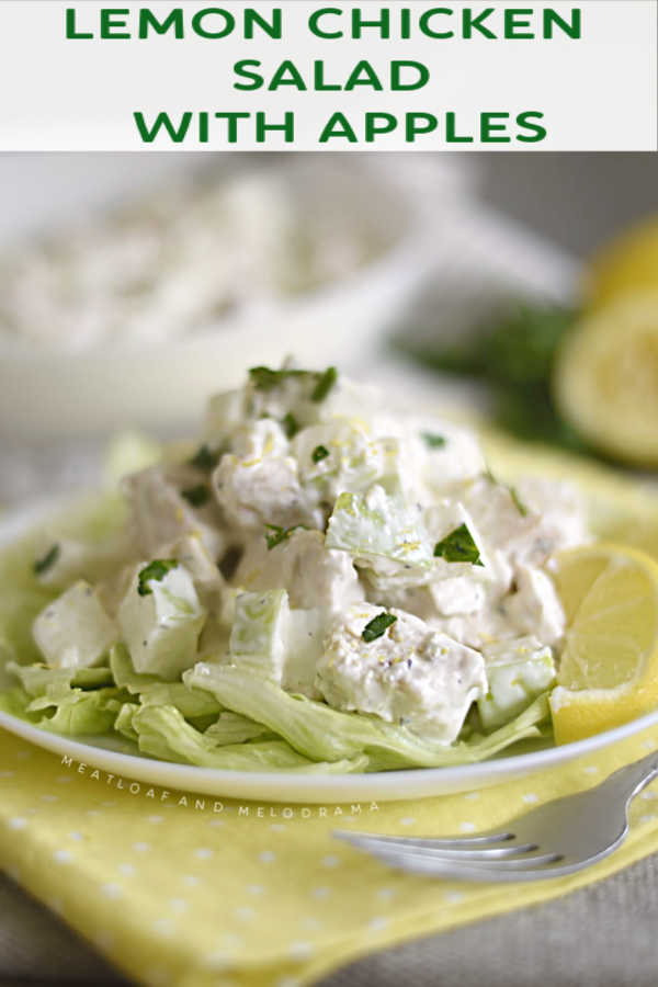 Lemon Chicken Salad with Apples recipe