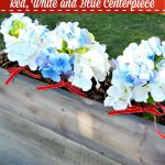 Easy Red, White and Blue Centerpiece
