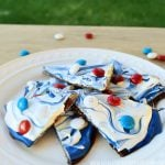 red-white-blue-bark-on-plate