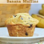 Easy Two Ingredient Banana Muffins
