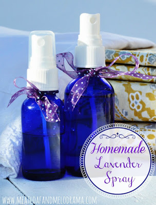 diy lavender spray