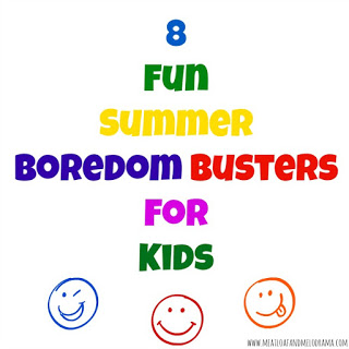 8 summer boredom busters for kids