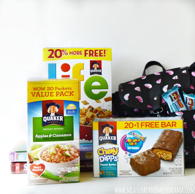 #shop back to school with cinnamon life cereal, instant oatmeal and chewy dipps