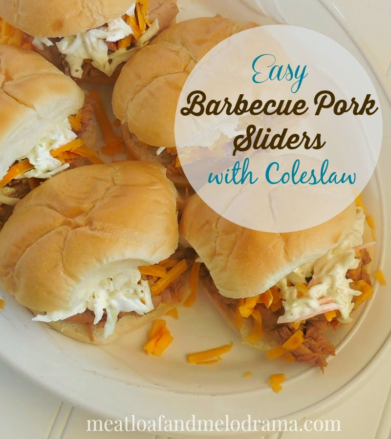 barbecue pork sliders