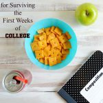 6 Tips for Surviving the First Weeks of College