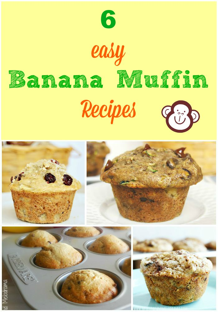 Easy Banana Muffin Recipes - Meatloaf and Melodrama