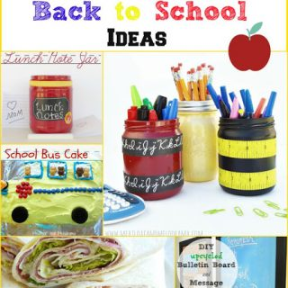 8 Easy Back to School Ideas