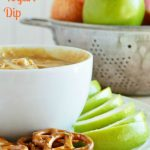 Peanut Butter Orange Yogurt Dip
