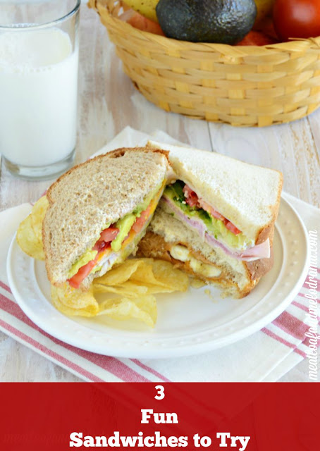 easy recipes for sandwiches that are ideal for busy families