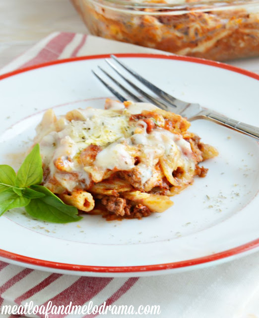 recipe for baked penne pasta with cheese