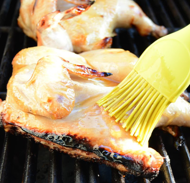 baste-cornish-hens-on-grill #shop