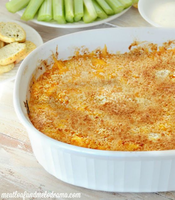 recipe for Buffalo chicken dip