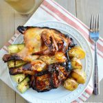 Ad: Grilled Orange Glazed Cornish Hens