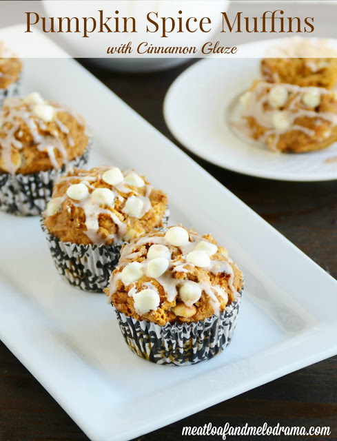 2-ingredient-pumpkin-spice-muffins-with-white-chocolate-chips-and-cinnamon-glaze-recipe