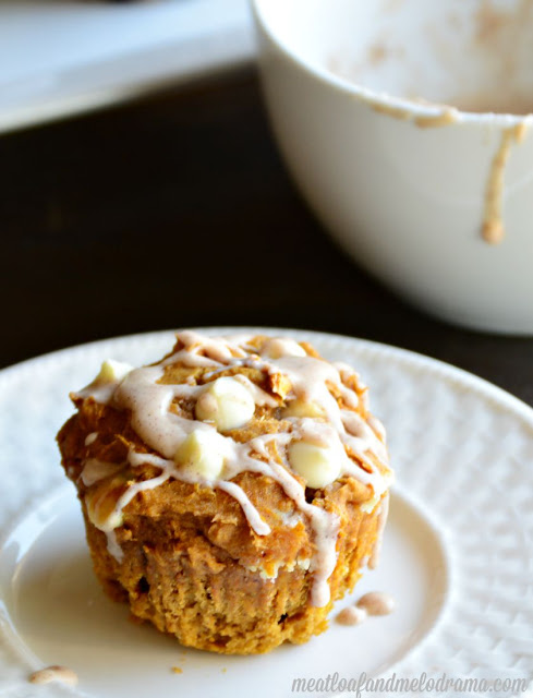 cake-mix-pumpkin-muffin-on-a-plate