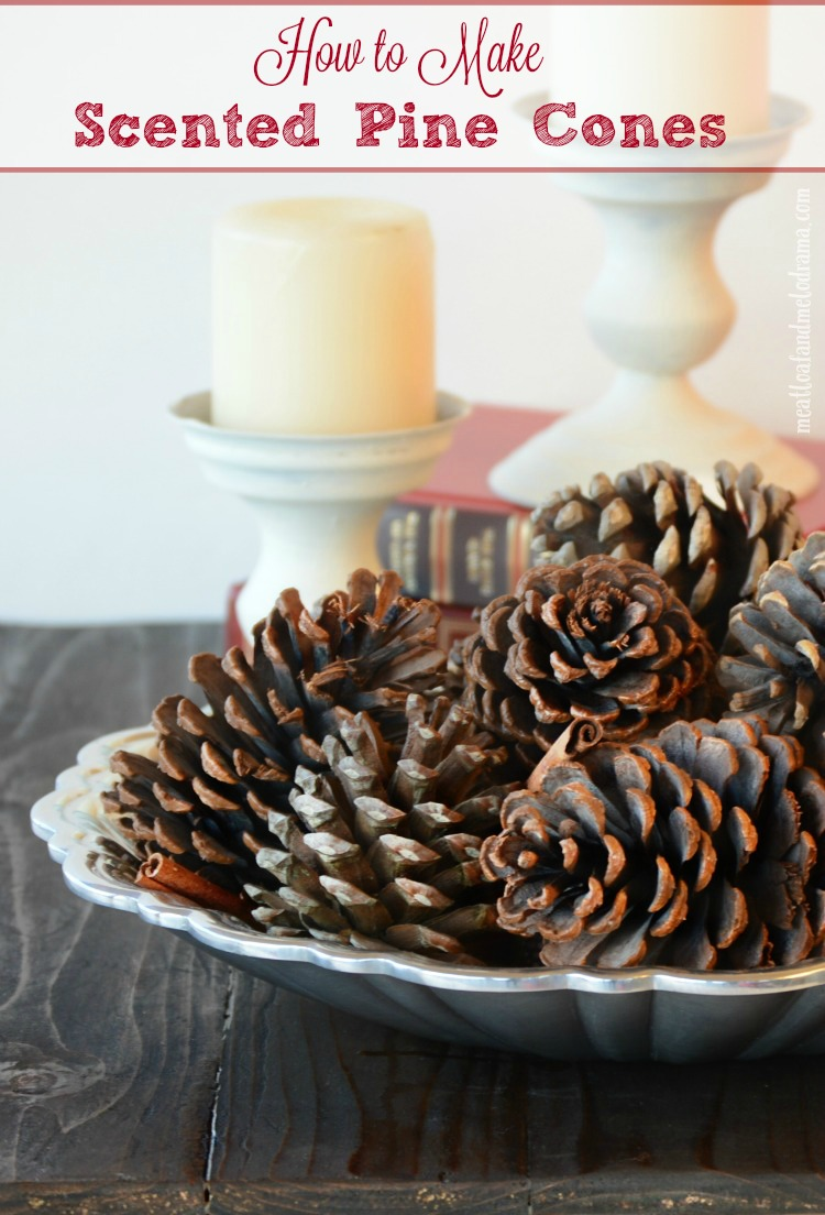 How To Make Scented Pine Cones Meatloaf And Melodrama